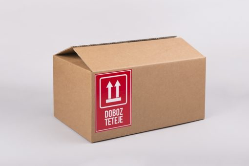 doboz teteje matrica, biztonsági címke, nagy doboz, hullámkarton doboz webáruház, papírdoboz eladó