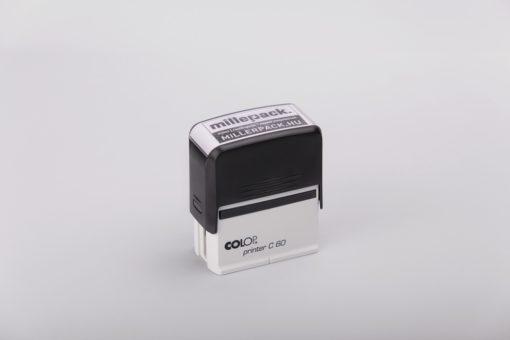 nagy bélyegző, pecsét saját logóval, colop printer c60, millerpack bélyegző