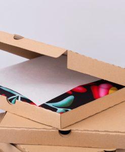 barna kartondoboz, kartondoboz gyártás, millerpack.hu, lapos doboz, ruhát csomagolnék, ruha csomagolás