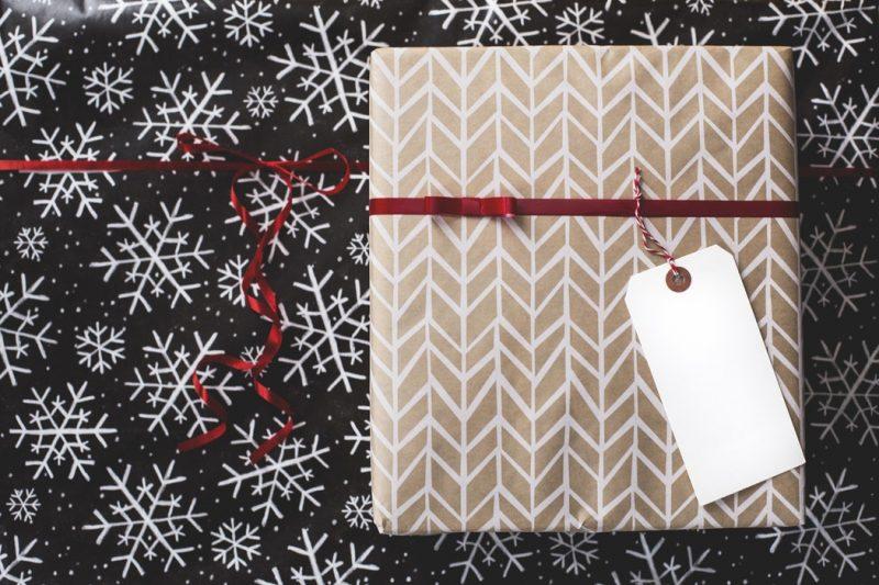 csomagolóanyag, karácsony, csomagolás