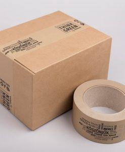 Papír ragasztószalag egyedi nyomattal 192 tekercs