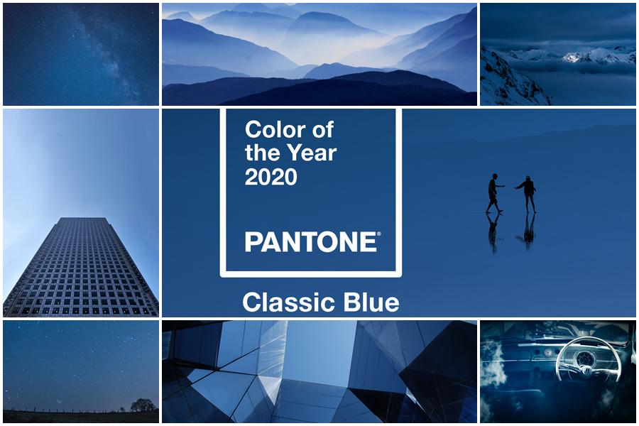 klasszikus kék
