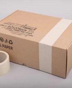 Papír ragasztószalag | törtfehér nyomatlan 50 méter