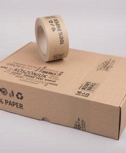 Papír ragasztószalag | köszönjük - think green - 100% paper