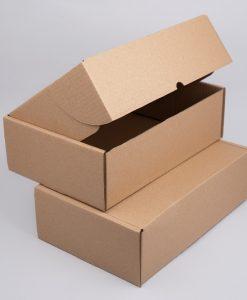 Kartondoboz hullámkartonból 280x200x60 mm méretben, barna színben