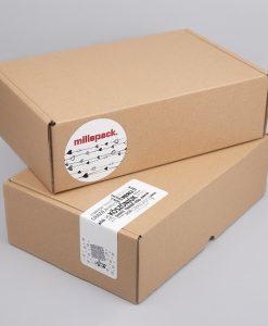 Kartondoboz hullámkartonból 280x200x60 mm méretben, FEFCO 0427 szabással