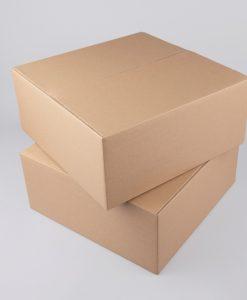 Kartondoboz hullámkartonból 350x350x150 mm méretben